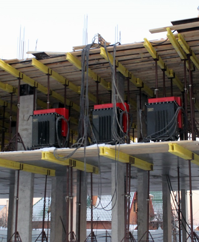 Бетона прогрев работа в москве как штукатурить стену из газосиликатных блоков цементным раствором